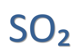 Діоксид сірки (SO2)